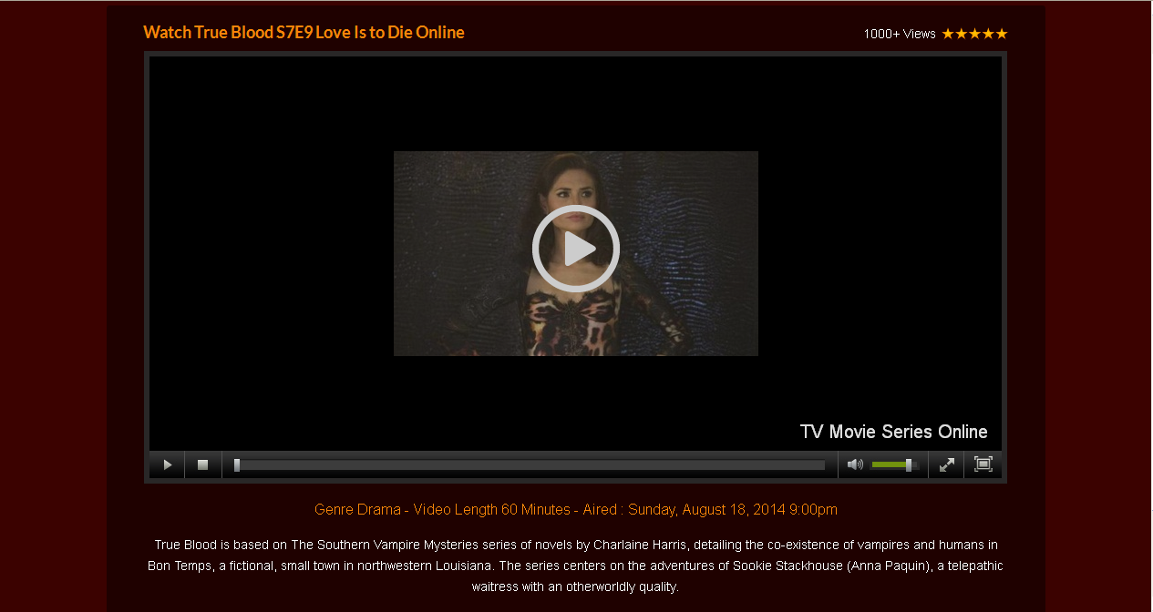 True Blood Online Stream